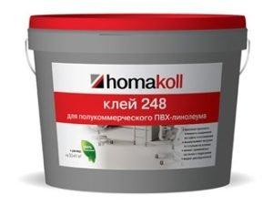 Клей Homakoll 284 14кг/банка